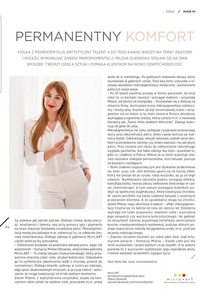 Milena - sesja biznesowo portretowa