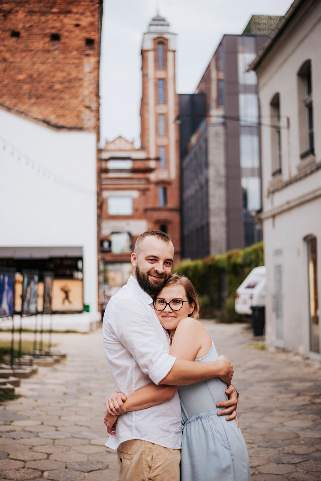 Ania+Artur+Jagódka - OFF Piotrkowska sesja rodzinna